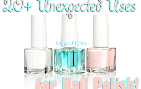 20 unexpected uses for nail polish