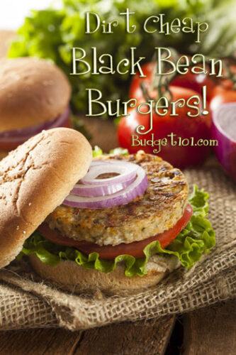 black bean burgers