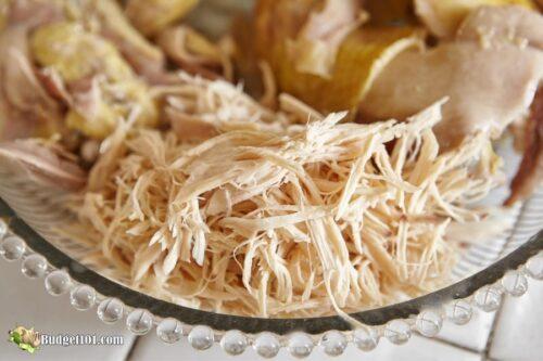 b101 shredded chicken hack
