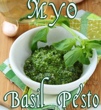 make your own basil pesto