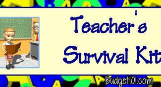 Teachers Survival Kit