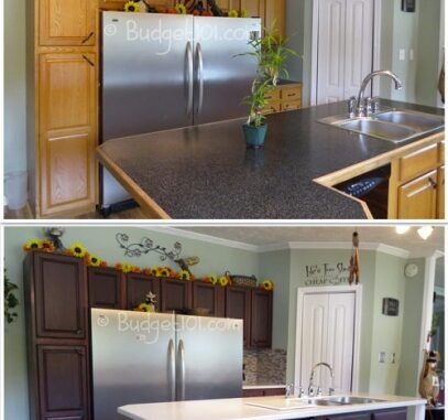 Diy Kitchen Transformation Dirt Cheap Remodeling Kitchen