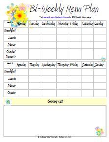 free-printable-menu-planners