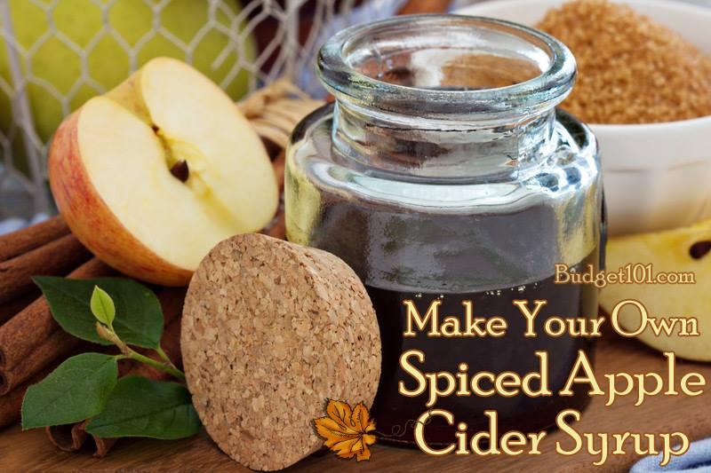 Apple Cider Cyrup