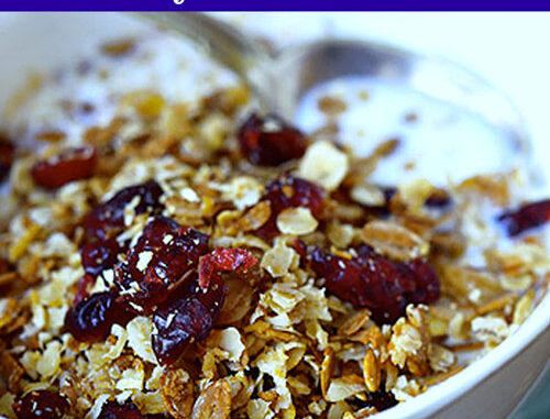 cranberry almond cereal mix