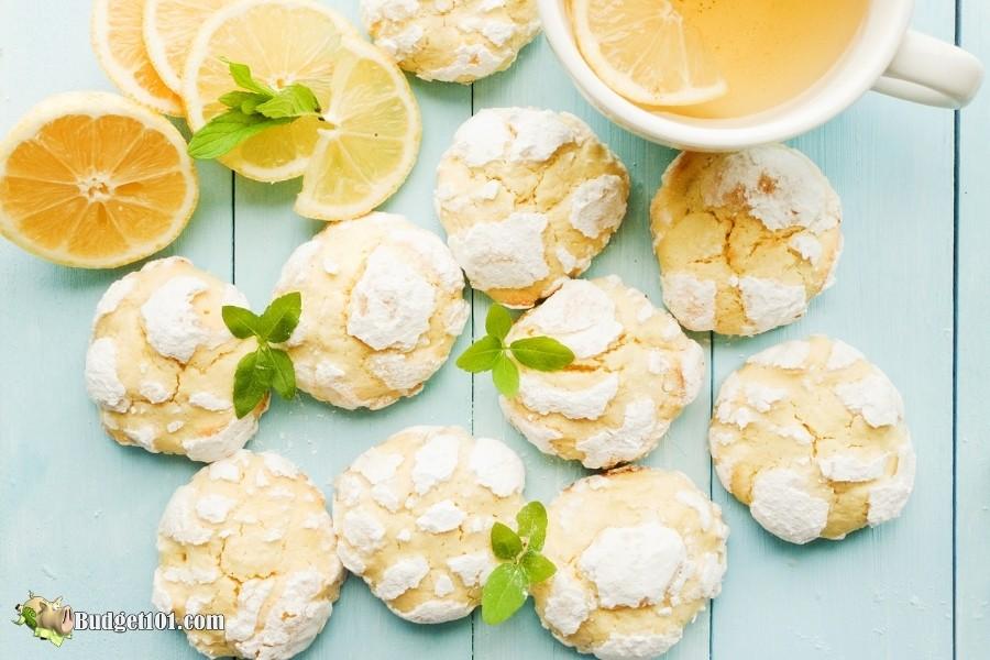 summertime lemon cookies