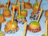 Caramel or Candy Apple Bites