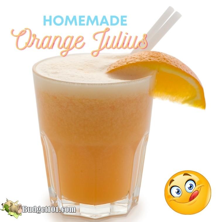Make Your Own Homemade Orange Julius by Budget101.com