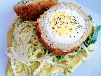 scotch eggs with sausage