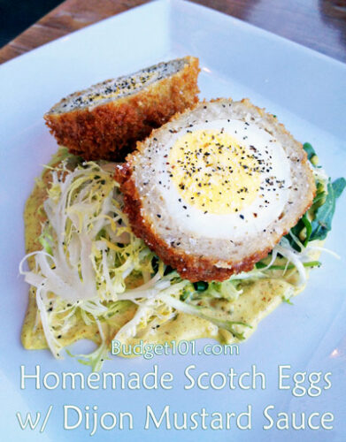 scotch eggs with sausage
