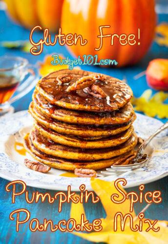gluten free pumpkin spice pancake mix