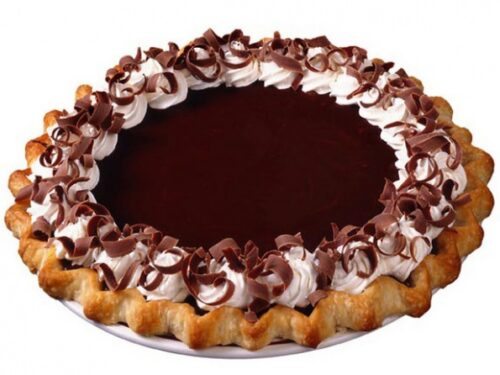 make ahead chocolate cream pie