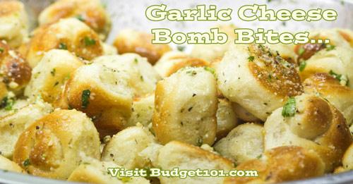 myo garlic cheese bomb bites
