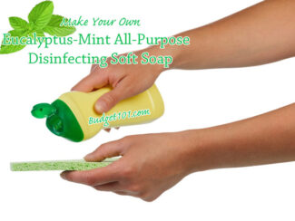 eucalyptus mint all purpose disinfecting soft soap for kitchen and bath