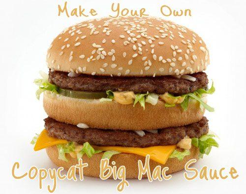 mcdonalds big mac sauce