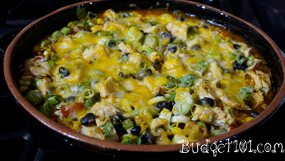 skinny-mexican-chicken-casserole