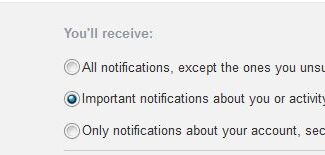 tired of overwhelming facebook email notifications