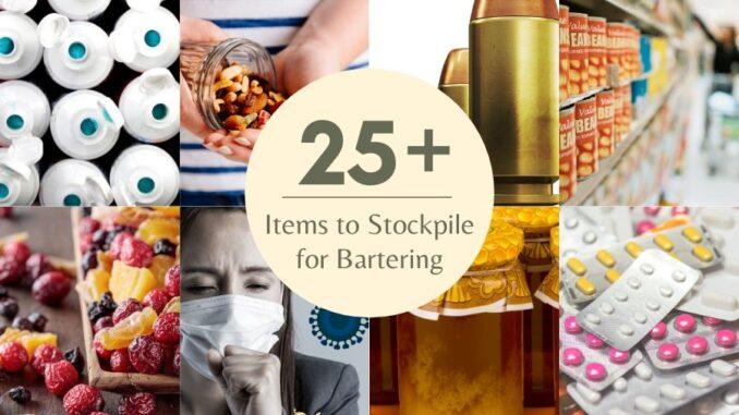 b101 stockpile for bartering