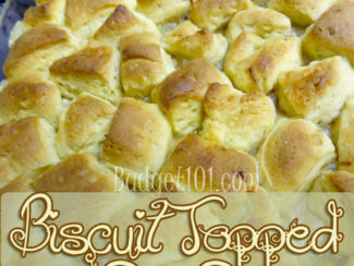 biscuit topped pot pie