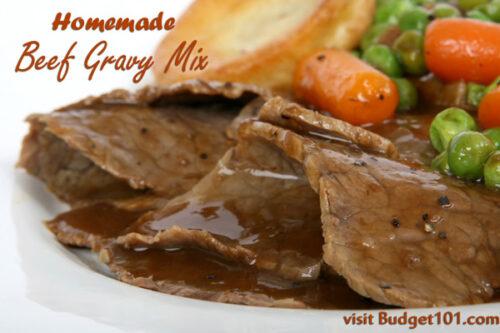 easy homemade beef gravy