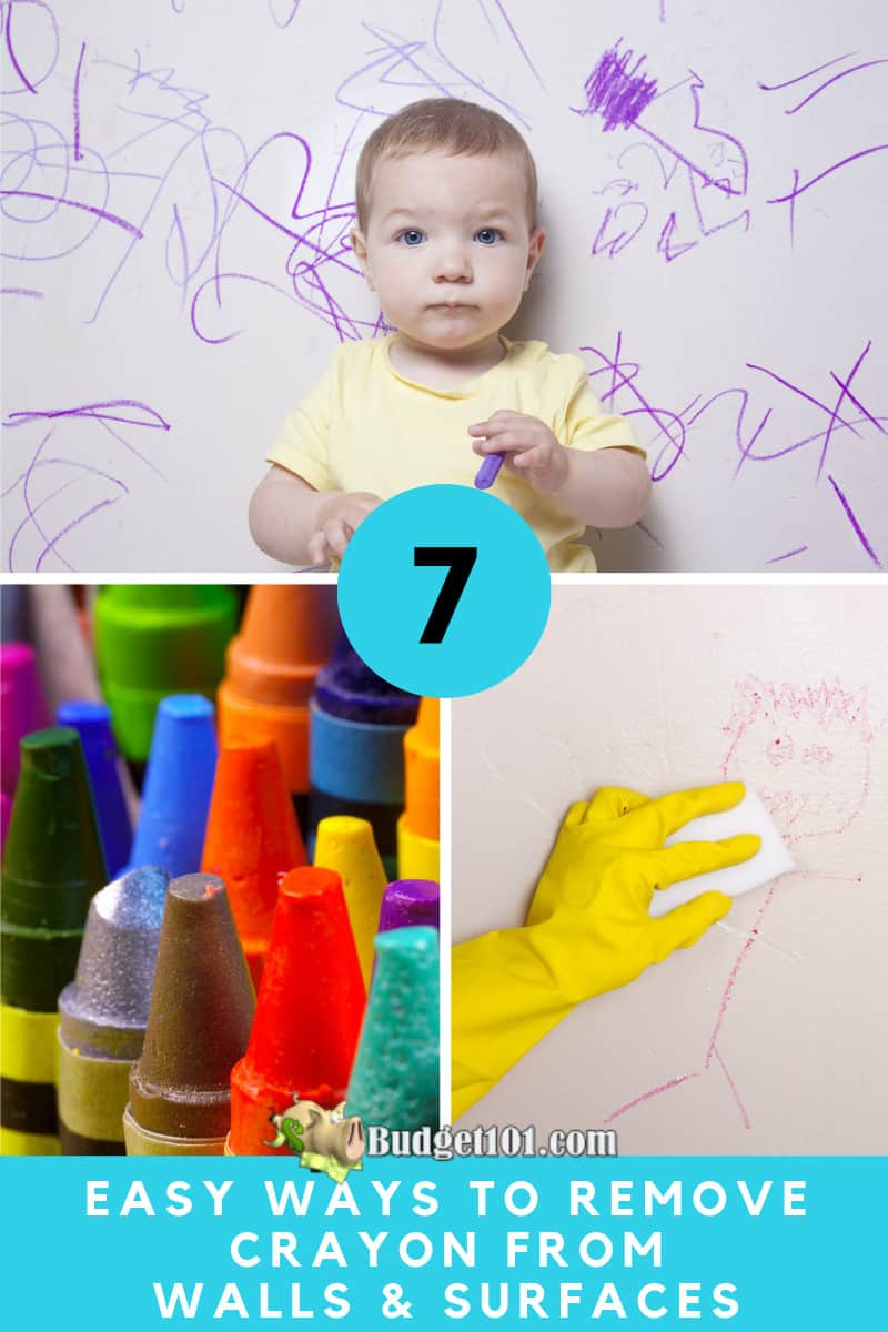 Remove Crayons from Walls