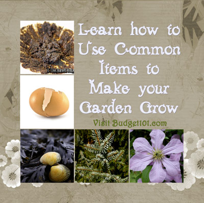 thrifty alternatives to expensive gardening products