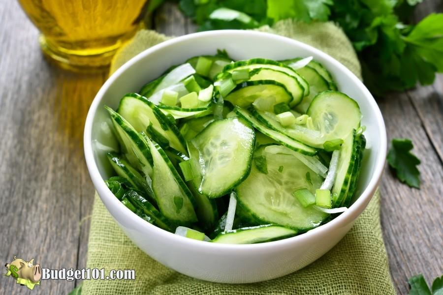 Amish Cucumber Salad