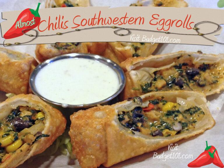 Copycat Chilis Southwestern Eggrolls