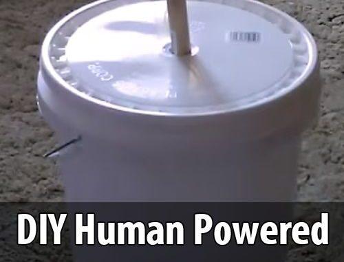 Diy Human Powered Washing Machine