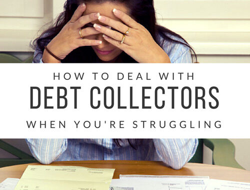 how to effectively deal with debt collectors