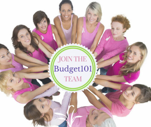 Join Our Team! Write for Budget101.com