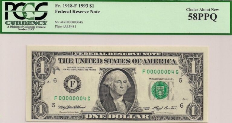 that dollar bill in your wallet might be worth a jackpot