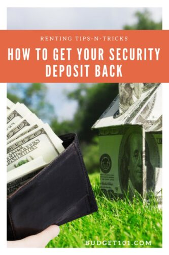 renting101 how to get your security deposit back