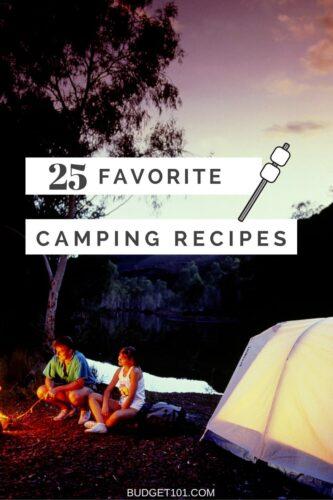 25 top camping recipes