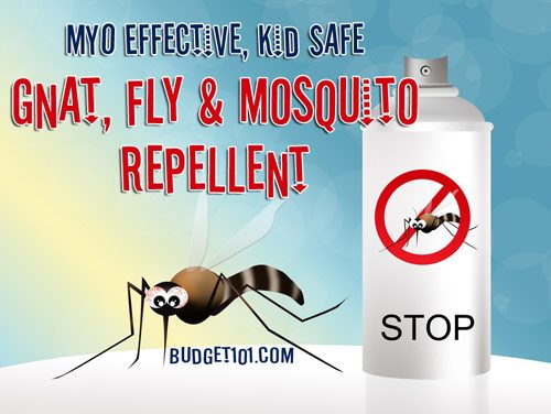 gnat fly and mosquito repellent