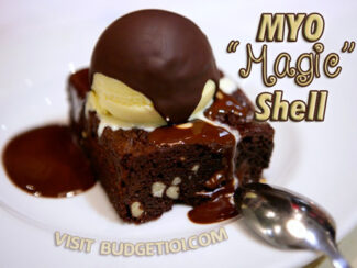 magic shell ice cream topping
