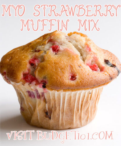 strawberry muffin mix