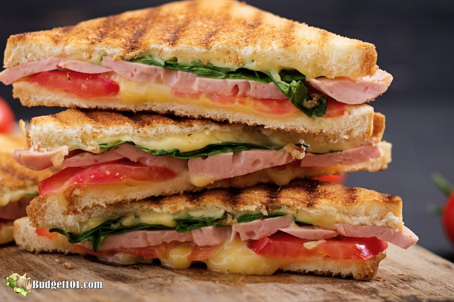 MYO Panini Sandwiches without a Panini Maker by Budget101.com
