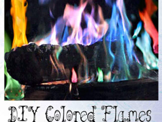 holiday color for winter fires