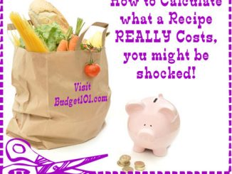 How to Calculate the Cost of a Recipe