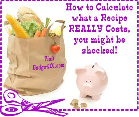How to Calculate the Cost of a Recipe | How much does it