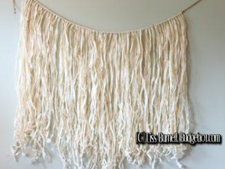How to Make a DIY Grass Hula Skirt