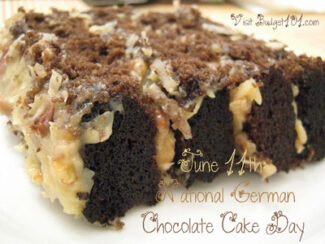 june 11th national german chocolate cake day