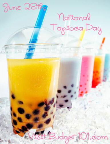 june 28th national tapioca day