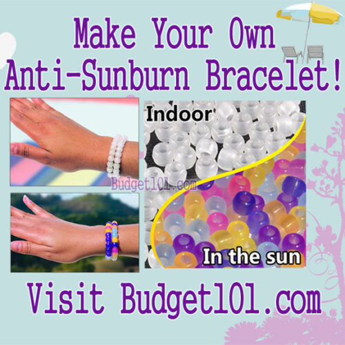 myo anti sunburn bracelet