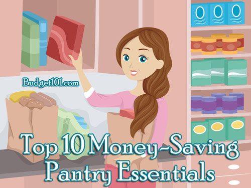 top 10 money saving pantry essentials