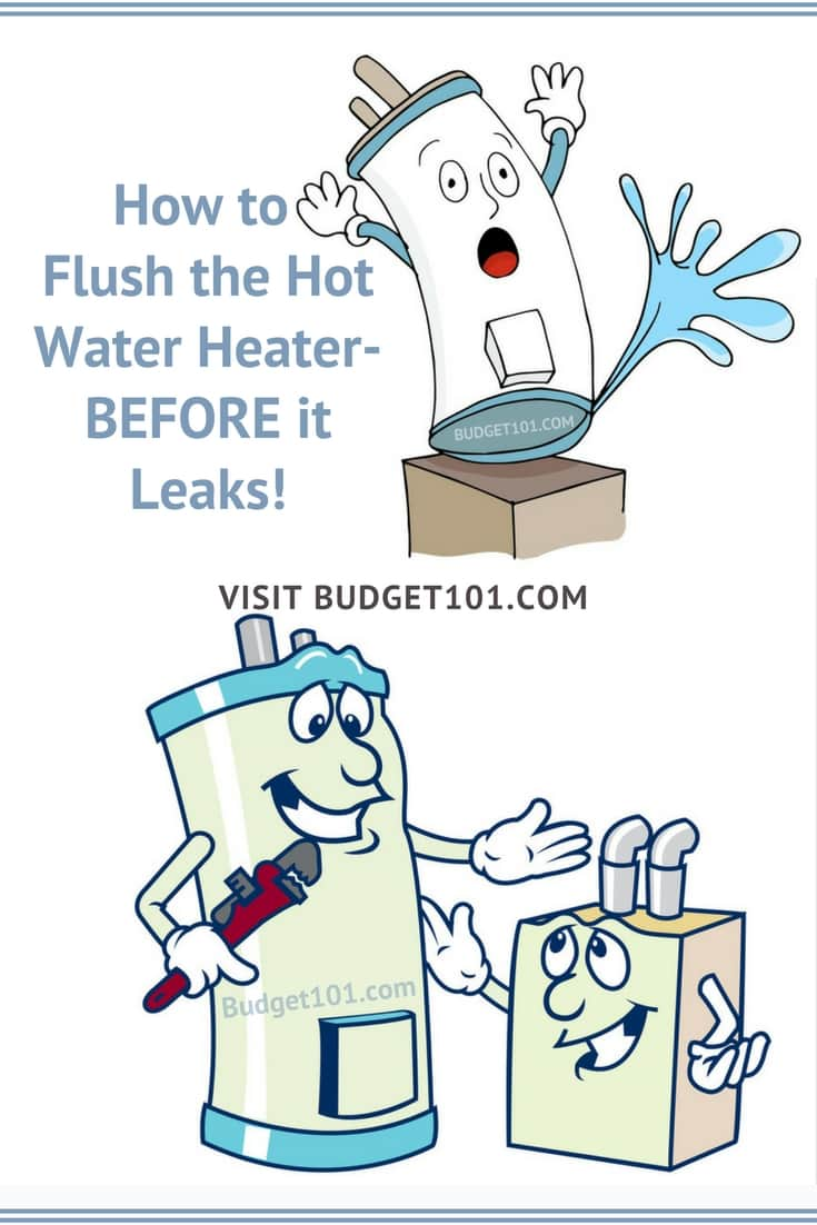 how to flush your hot water heater