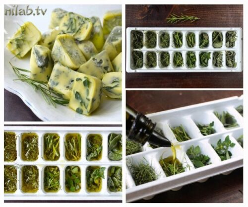 tasty herb cooking cubes