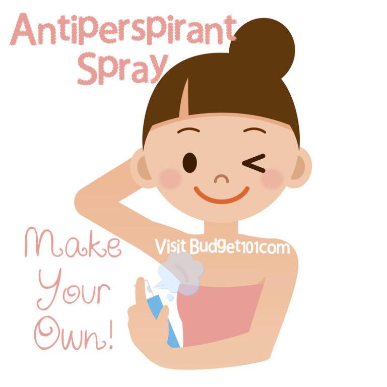 antiperspirant spray