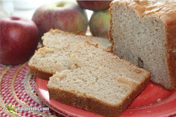 Apple Cider Bread Mix- Budget101.com